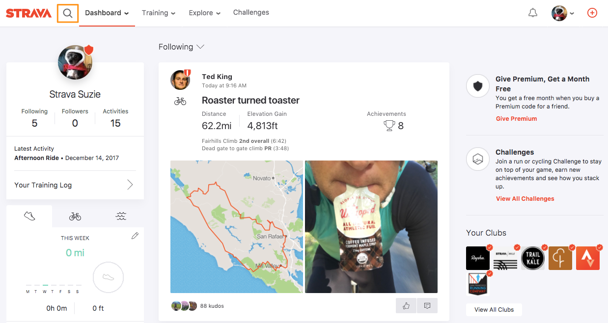 Finding & Inviting Friends to Strava: Website – Strava Support