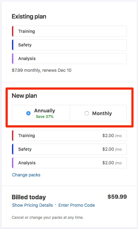 Managing your Billing Information and Frequency – Strava Support