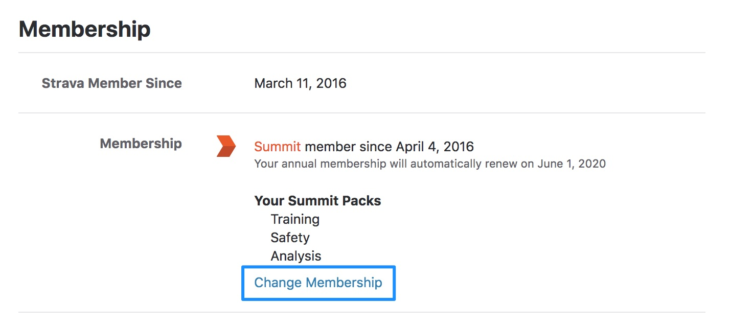 How to cancel Summit – Strava Support