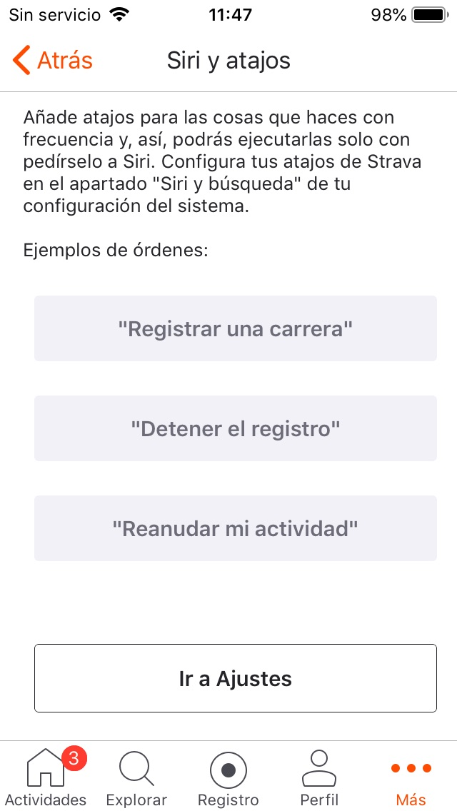 Integración De Siri Soporte Técnico De Strava