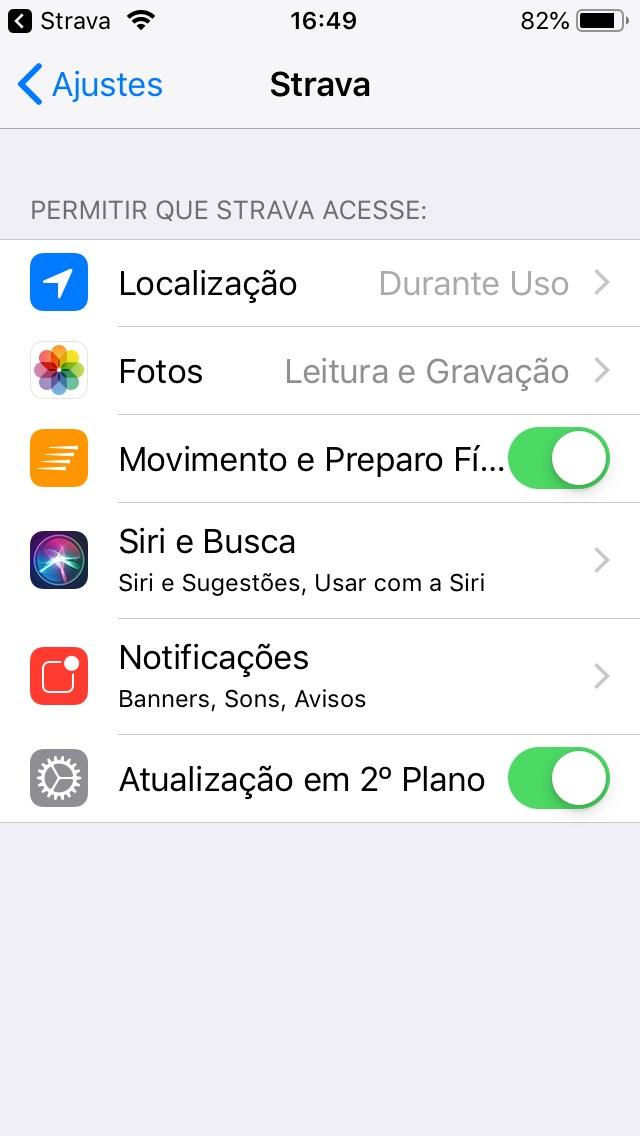 Integração Com A Siri Suporte Strava